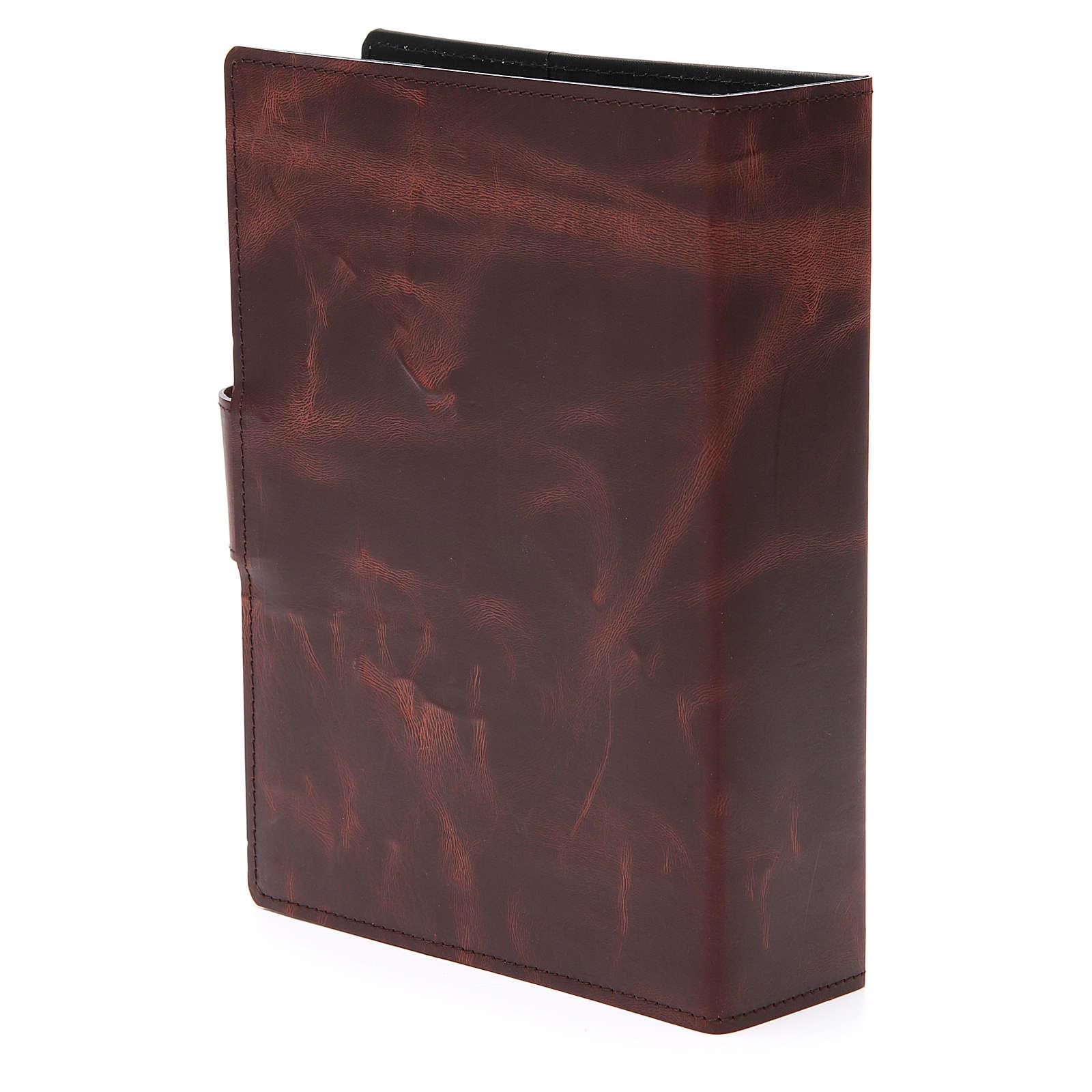 Couverture Missel Romain petit bas-relief cuir 4