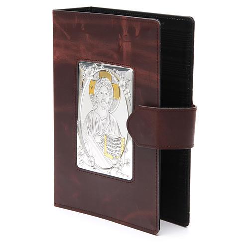 Couverture Missel Romain petit bas-relief cuir 2