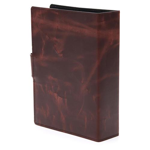 Couverture Missel Romain petit bas-relief cuir 3