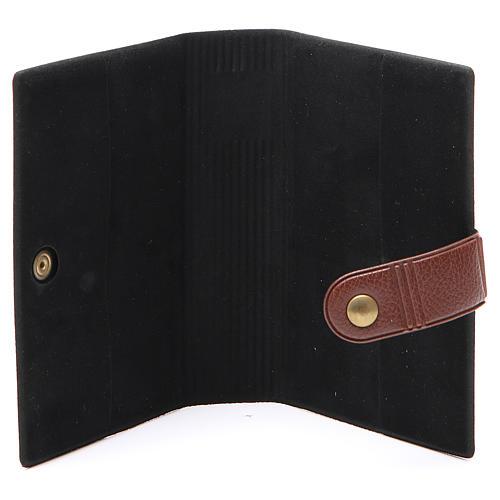 STOCK Couverture pour Missel EDB imitation cuir brun 4
