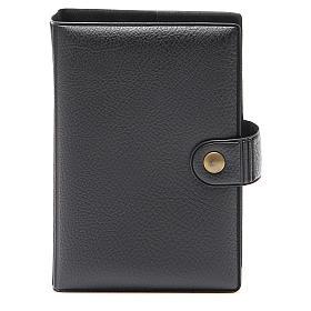 STOCK missal case in black leather imitation EDB s1