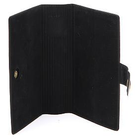 STOCK missal case in black leather imitation EDB s4