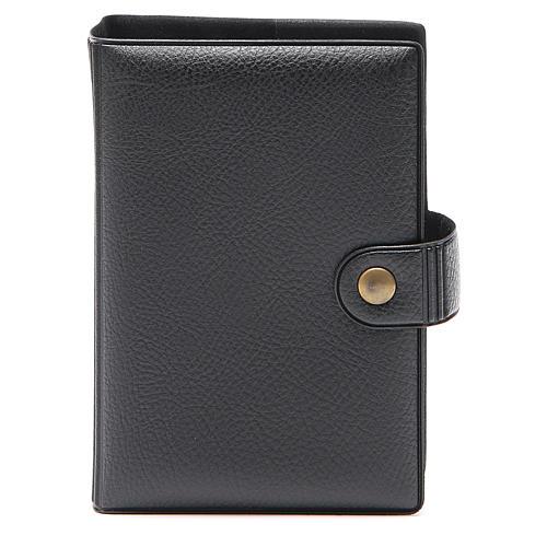 STOCK missal case in black leather imitation EDB 1