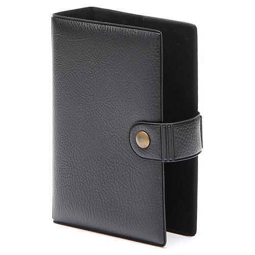 STOCK missal case in black leather imitation EDB 2