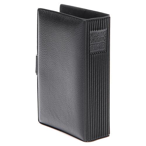 STOCK missal case in black leather imitation EDB 3