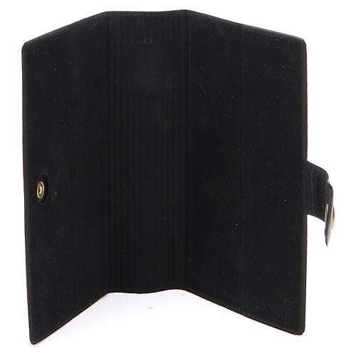 STOCK missal case in black leather imitation EDB 4