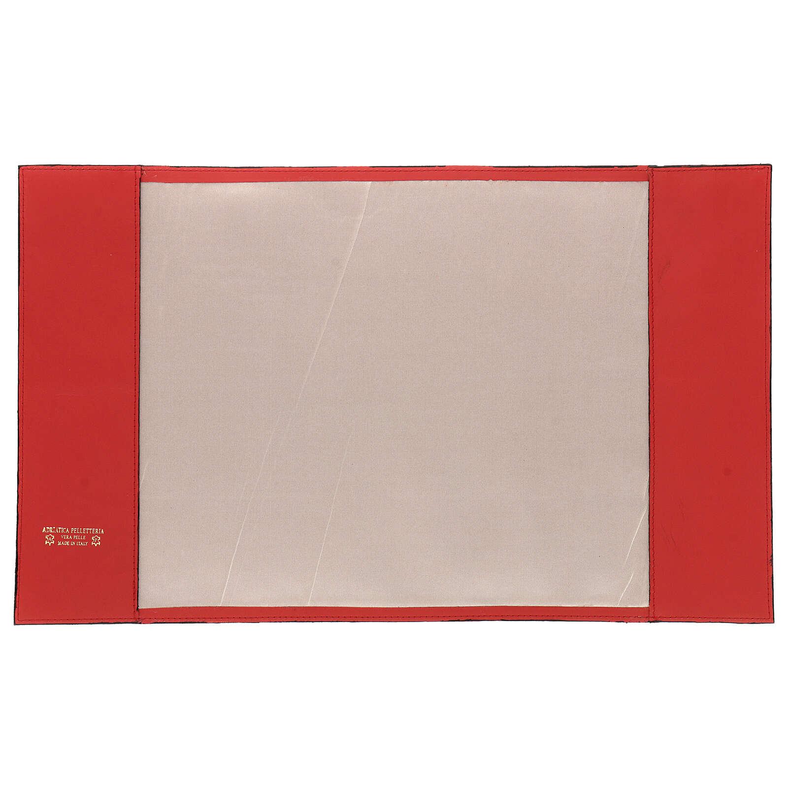 Copertina rossa vera pelle Messale III edizione 4