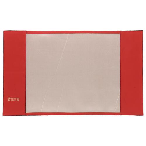 Copertina rossa vera pelle Messale III edizione 2