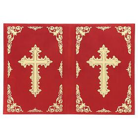 Custodia Orazionale Messale III ed. rosso vera pelle s3
