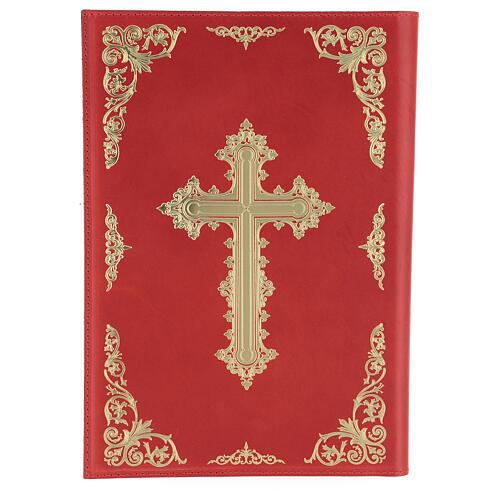Custodia Orazionale Messale III ed. rosso vera pelle 2