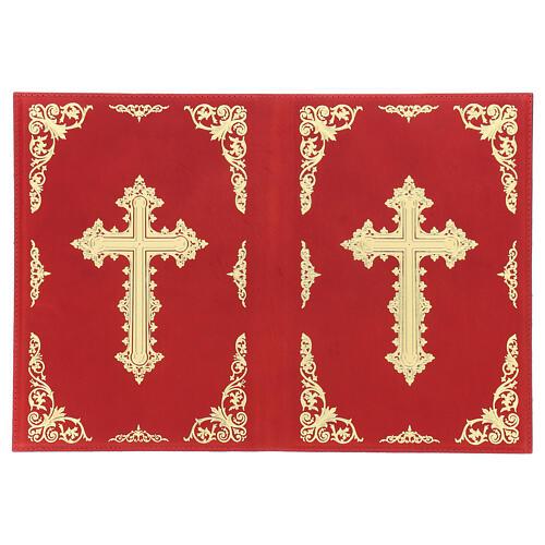 Custodia Orazionale Messale III ed. rosso vera pelle 3