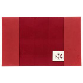 Copertina Messale III edizione vera pelle rossa s4