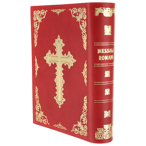 Real Leather Missal cover III edition, red 2