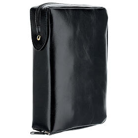 Real black leather case Daily Missal St. Paul III EDITION s2