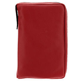 Real red leather case Daily Missal St. Paul III EDITION s1