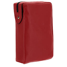 Real red leather case Daily Missal St. Paul III EDITION s2