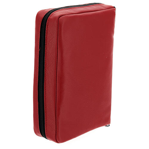 Real red leather case Daily Missal St. Paul III EDITION 3