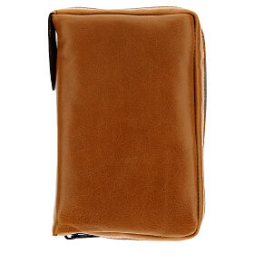 Brown leather case Daily Missal St. Paul III EDITION s1