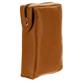 Brown leather case Daily Missal St. Paul III EDITION s2