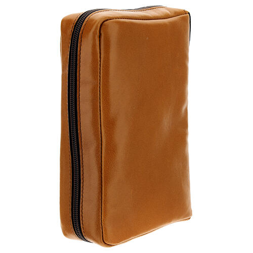 Brown leather case Daily Missal St. Paul III EDITION 3