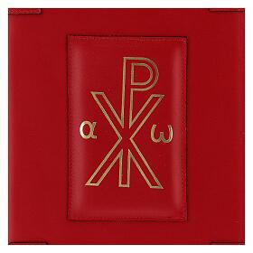 Custodia vera pelle rossa Messale Romano III EDIZIONE XP s2
