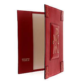 Custodia vera pelle rossa Messale Romano III EDIZIONE XP s4