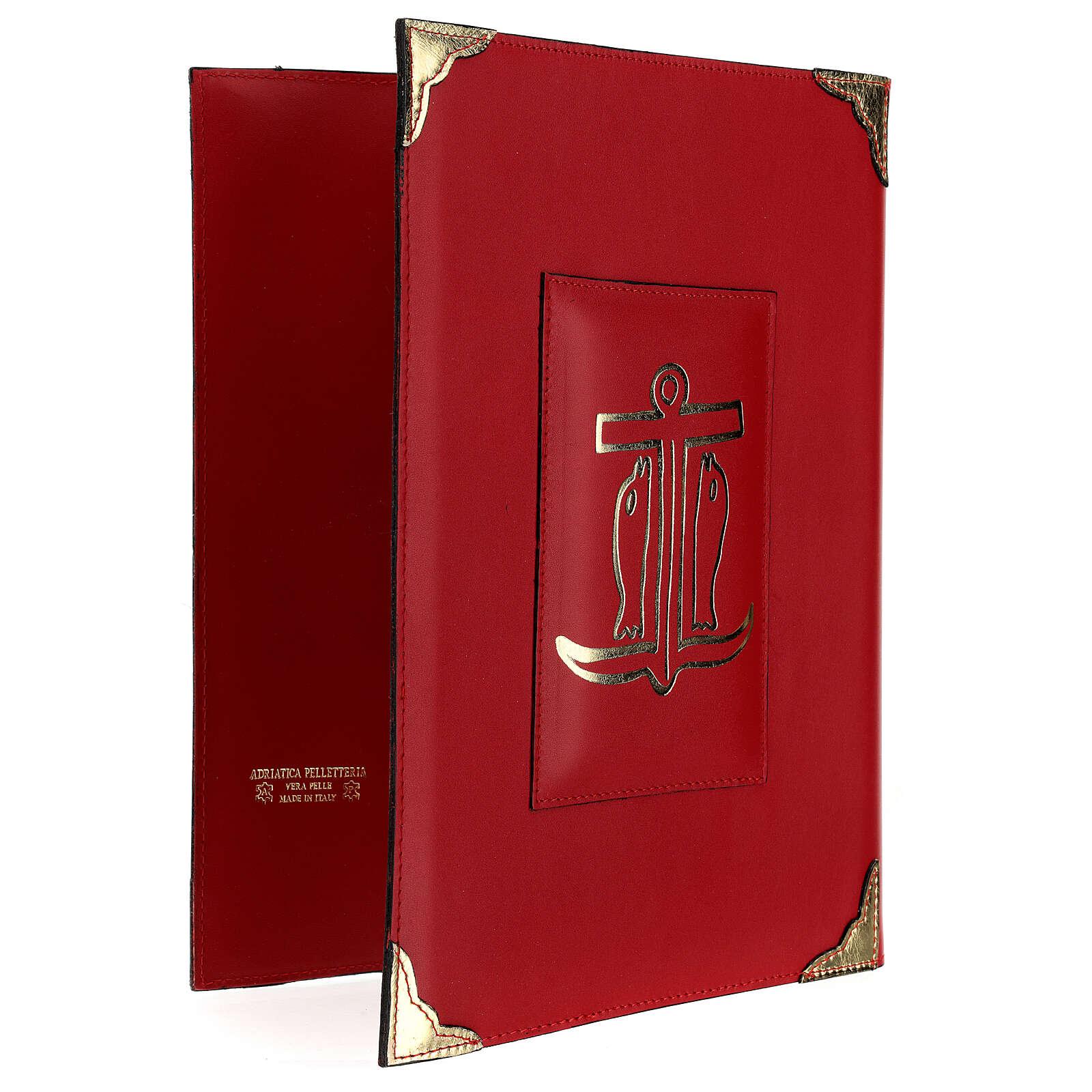 Custodia Messale Romano III EDIZIONE pelle rossa 4