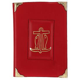 Custodia Messale Romano III EDIZIONE pelle rossa s1