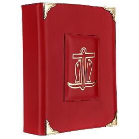 Custodia Messale Romano III EDIZIONE pelle rossa s3