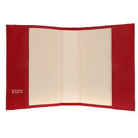 Custodia Messale Romano III EDIZIONE pelle rossa s5