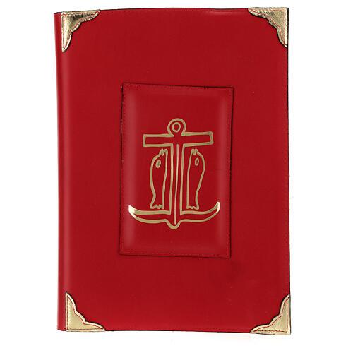 Custodia Messale Romano III EDIZIONE pelle rossa 1