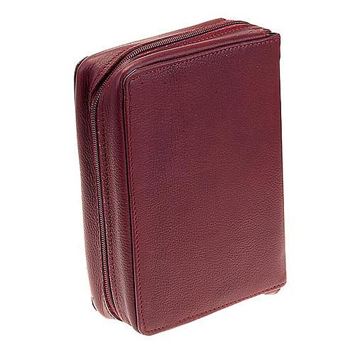 Einband für Jerusalemer Bibel aus Lederfaserstoff 11