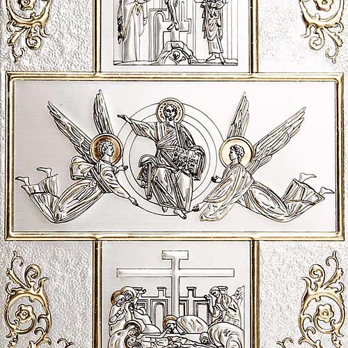 Copertina Bibbia Gerusalemme Studio placca Resurrezione 3