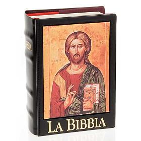 Copertina Bibbia Gerusalemme  vera pelle icona s5