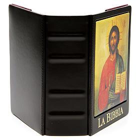 Copertina Bibbia Gerusalemme  vera pelle icona s4