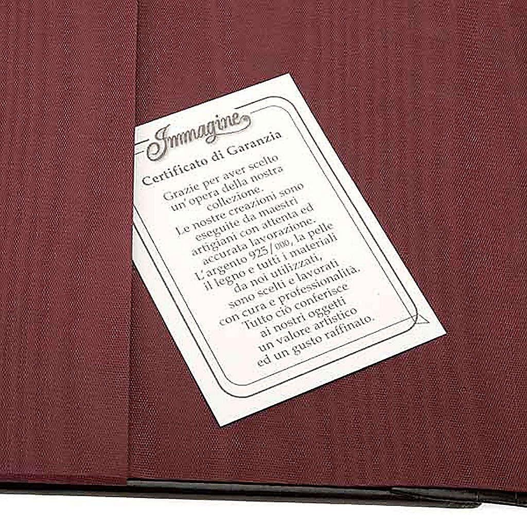 Copertina Bibbia Ebron placca Gesù 4