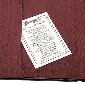 Copertina Bibbia Ebron placca Gesù s2