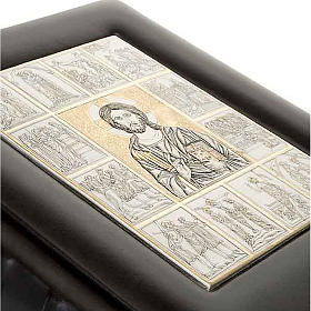 Copertina Bibbia Ebron placca Gesù s4