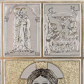 Copertina Bibbia Ebron placca Gesù s5