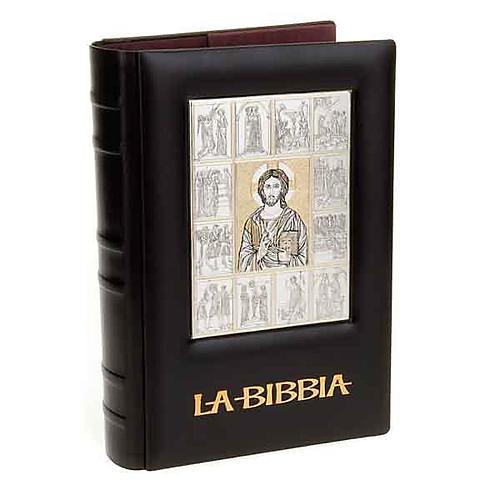 Copertina Bibbia Ebron placca Gesù 1