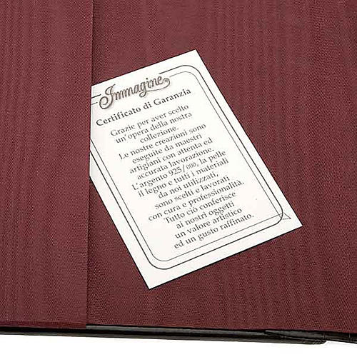 Copertina Bibbia Ebron placca Gesù 2