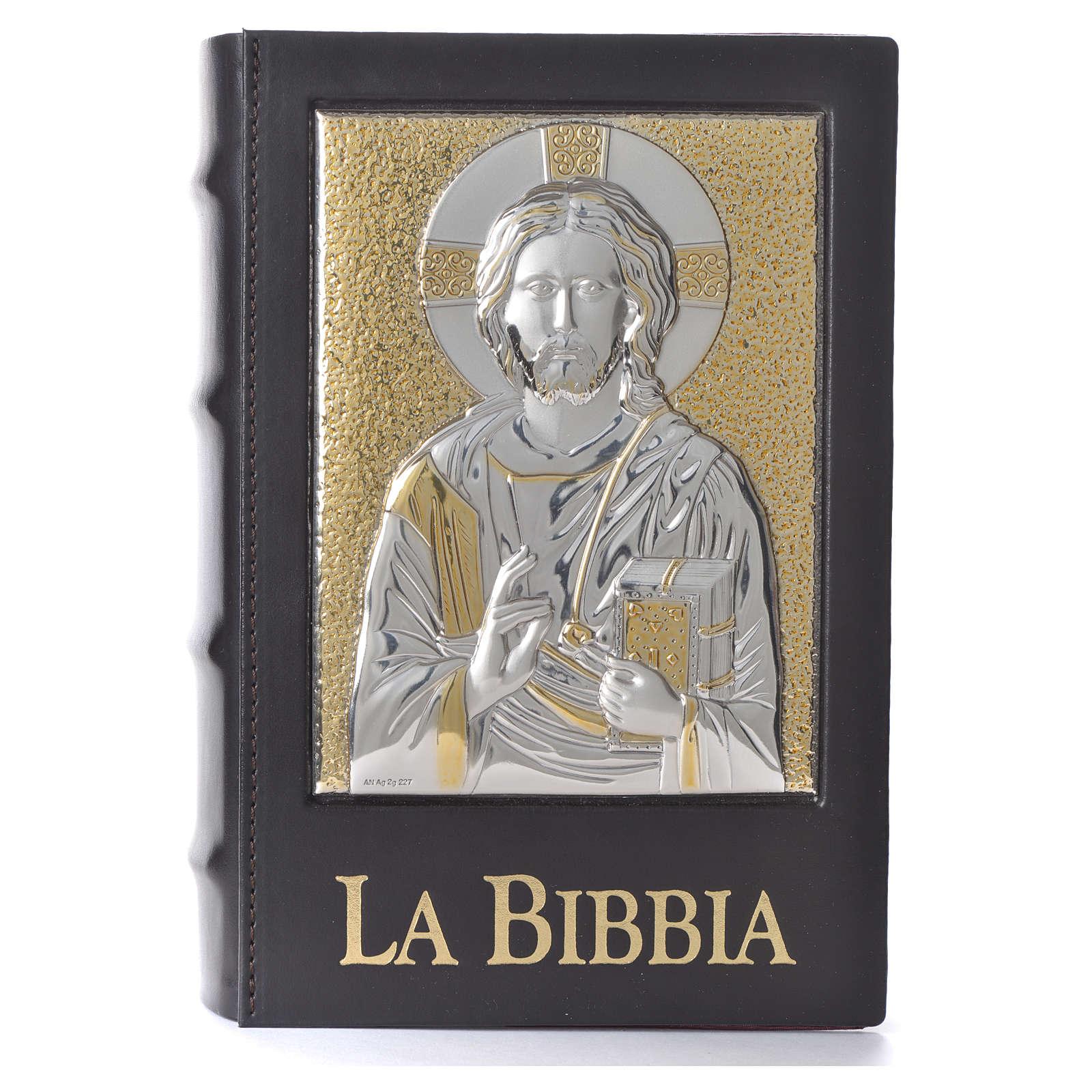 Copertina Bibbia Gerusalemme 2009 placca Cristo Pantocratore 4