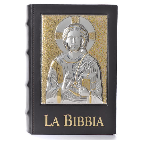 Copertina Bibbia Gerusalemme 2009 placca Cristo Pantocratore 1