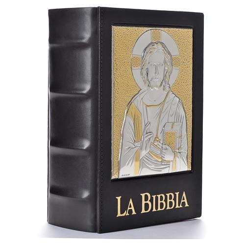 Copertina Bibbia Gerusalemme 2009 placca Cristo Pantocratore 2