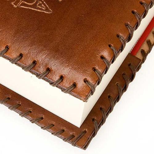 Copertina cuoio Bibbia Gerusalemme 3