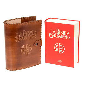 Leather slipcase for the Bible of Jerusalem s5