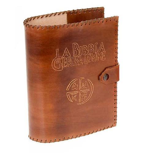Leather slipcase for the Bible of Jerusalem 1