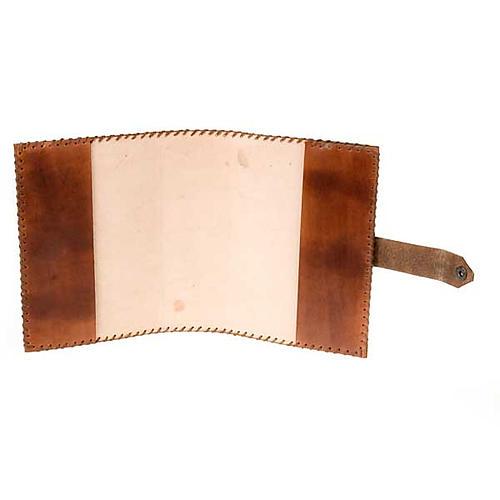 Leather slipcase for the Bible of Jerusalem 2