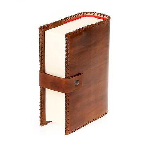 Leather slipcase for the Bible of Jerusalem 4