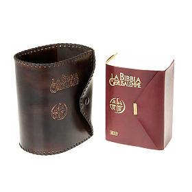 Copertina cuoio Bibbia Gerusalemme Tascabile s3